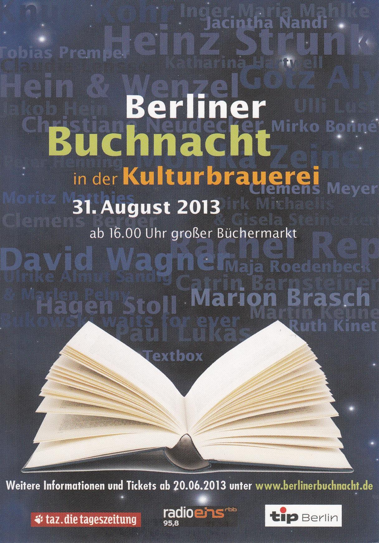 Berliner Buchnacht 1